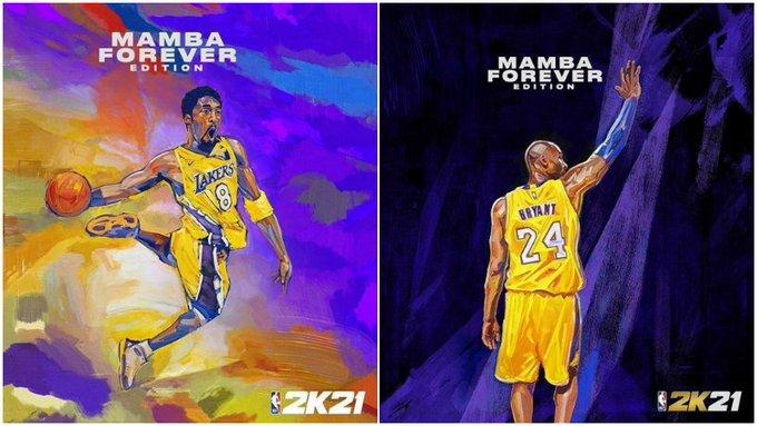 【影片】2K21封面:Kobe第3次當選,命名為曼巴永恆版!美媒建議加上GiGi!