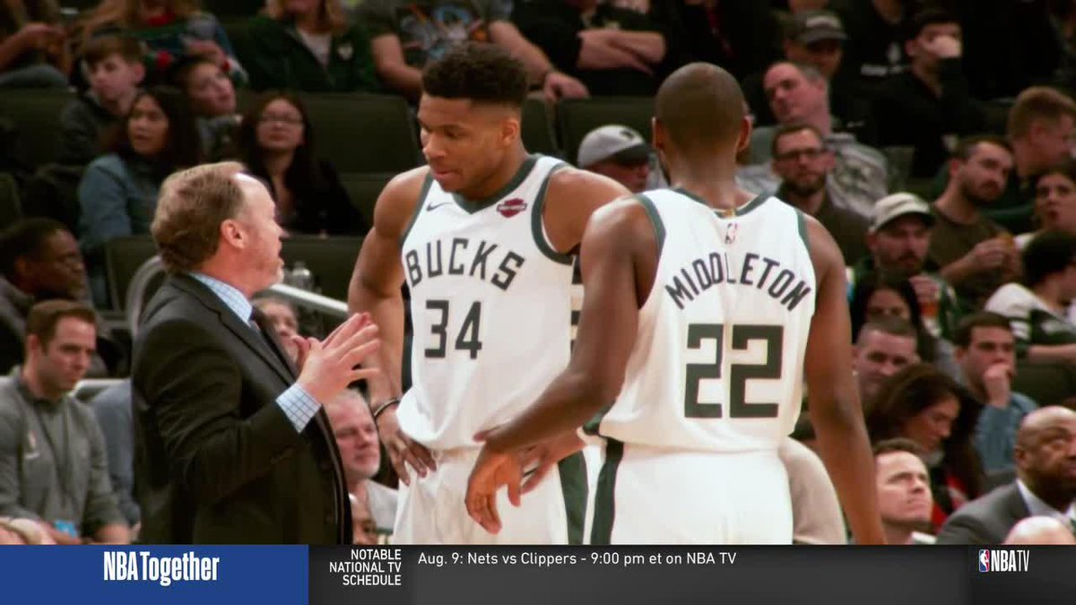 """""""Milwaukee has all the components to be a championship team."""" 👀  Stan Van Gundy explains why the @Bucks could be the last team standing at the end of the season. https://t.co/AsFVSeykuH"""