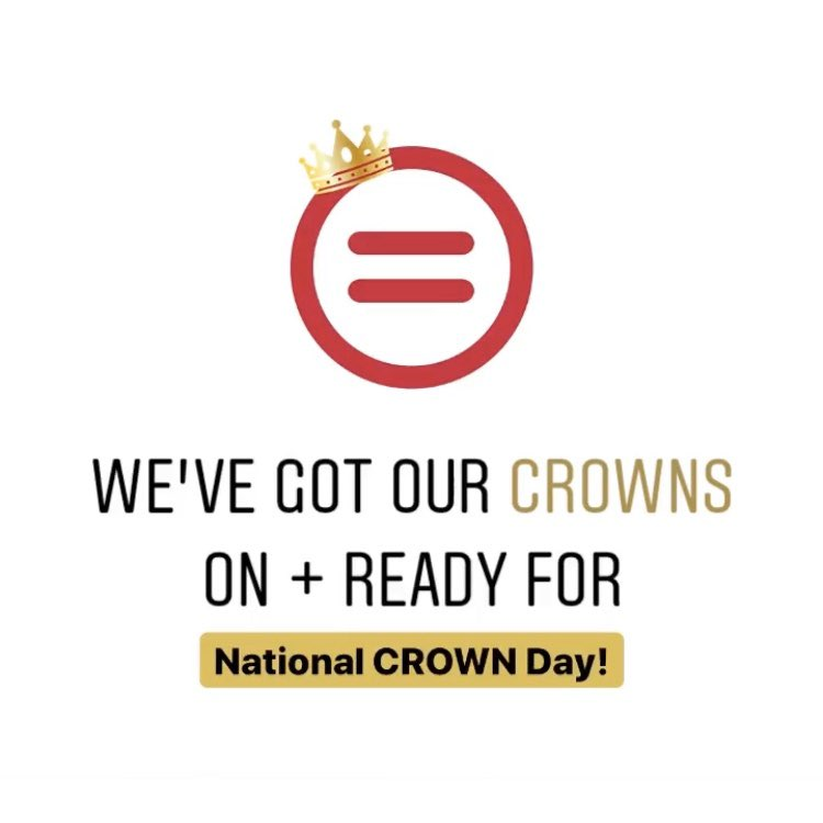 We're looking forward to National CROWN Day! Tomorrow is the 1 year anniversary of the #CROWN Act, legislation that fights #hair discrimination in the #workplace.  Learn more about this work + our partnership with the CROWN Coalition: https://t.co/6Id9uCnADg. @thecrownact https://t.co/xZwbrQC8eY