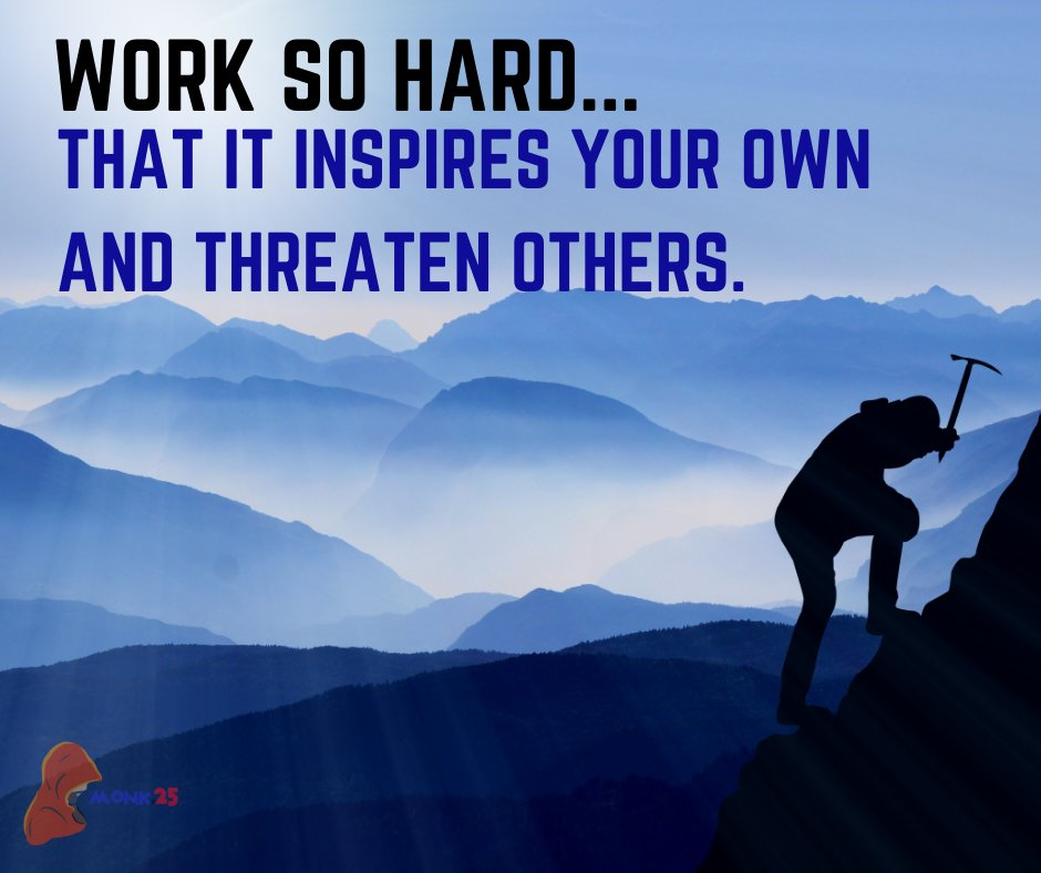 Work so hard...that it inspires your own and threaten the other. . #successatlps #MotivationalQuotes #dailyquotes #positiveenergy #quotestoday https://t.co/Uu8qmCZNNf