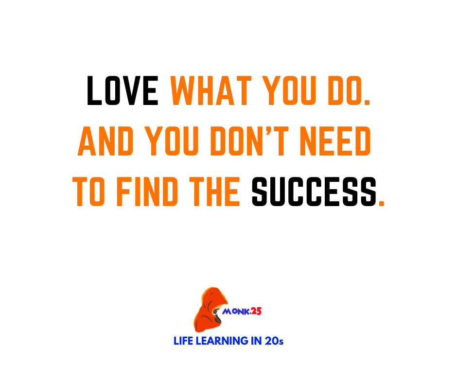 Love what you do.. and you don't need to find the success. . . #MondayMotivaton #quotestoday #successquotes #passionate https://t.co/UAF9kDvFCJ