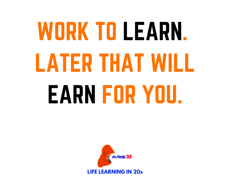 Work to Learn. And that will Earn you.  . . #work #learning #growthmindset #SuccessStory #successquotes #Motivation https://t.co/i4GiNRB0j5