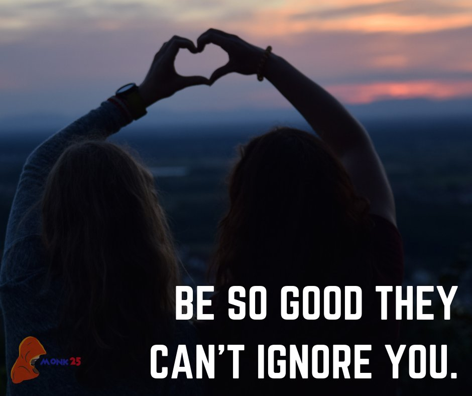 Be so good they can't ignore you. . . #gratitude #helpingothers #BeGood #SpiritualQuotes #PositiveVibes https://t.co/roYe0AakxH