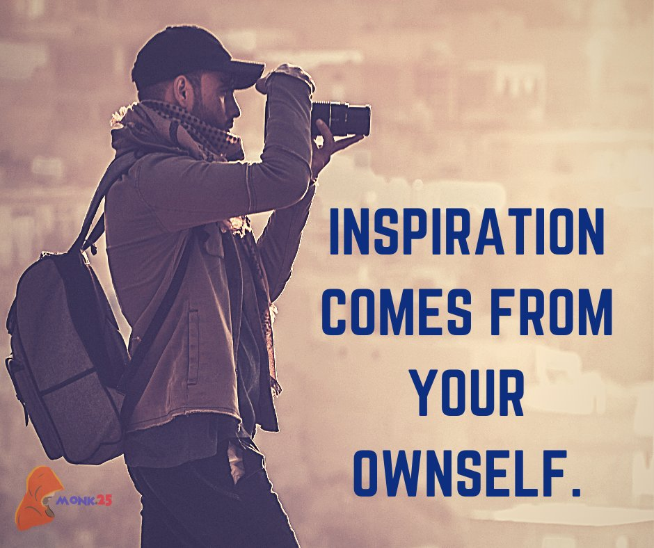 Inspiration comes from within yourself.  . #inspiration #InspirationalQuotes #positivethinking #Motivation #life #20s https://t.co/0QJKYxdlhY