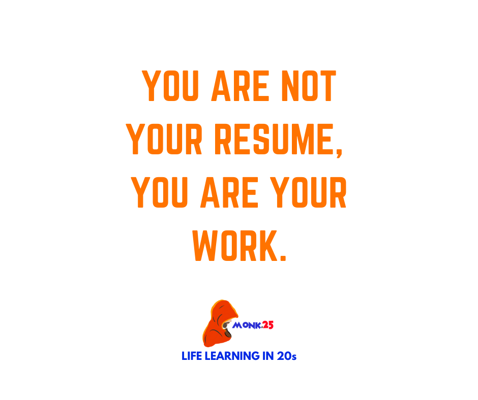 You are not your resume, you are your work. . #selfcare #inspiration #InspirationalQuotes #Motivation https://t.co/0LUTU1th8G