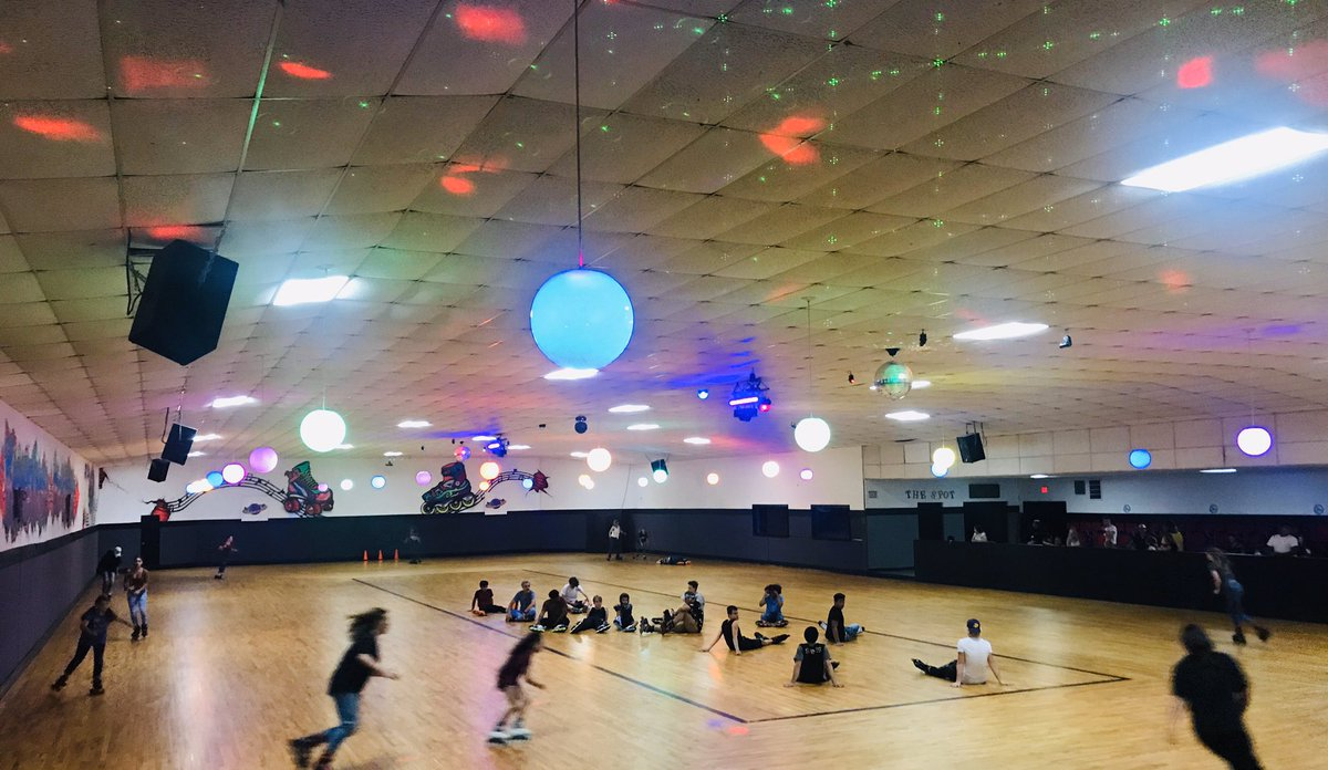 SPEED SKATE. Every Friday and Saturday night at 9:30 PM!