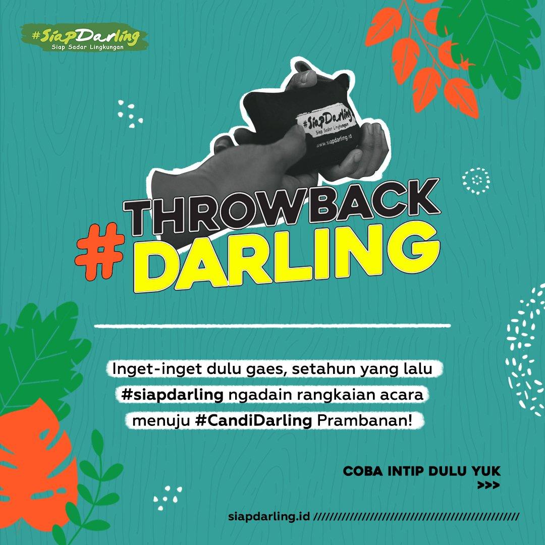 Mana nih #DarlingSquad Yogyakarta? Masih inget gak sih, kalo setahun yang lalu  #siapdarling pertama kalinya dateng ke Yogyakarta persisnya di Universitas Gadjah Mada buat persiapan #CandiDarling Prambanan.  #Jagalingkungan #PeduliLingkungan #CintaLingkungan #ramahlingkunganpic.twitter.com/HxloYSiaiB