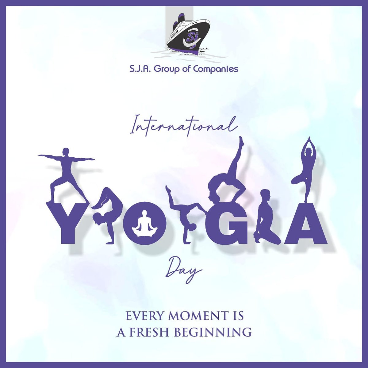 Sja Group Of Companies On Twitter Yoga Is A Bridge To Connect Mind And Body Spiritually Happyinternationalyogaday Sjagroup Internationalyogaday Yogaday Yoga Logistics India Internationalyogaday2020 Https T Co 1z2pl5dsnz