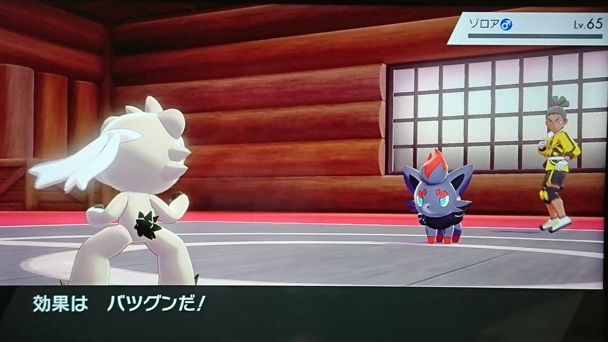 ファイト 盾 イン ポケモン 剣