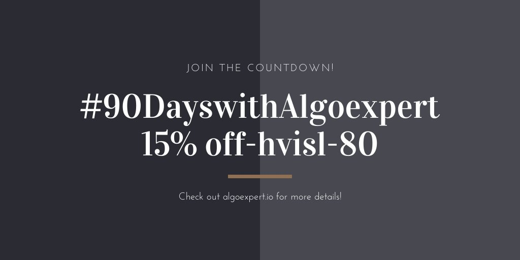 """""""It is better to have 100 functions operate on one data structure than to have 10 functions operate on 10 data structures""""  Ace the #technical #interviews with #AlgoExpert http://algoexpert.io Get 15% OFF in  with - hvisl-80 #100DaysOfCode #100DaysOfMLCode #100DaysOfJavascript pic.twitter.com/OgphlGv32n"""
