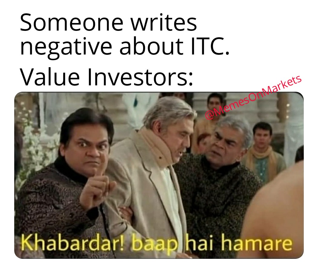 Stock Market Memes On Twitter Happy Father S Day Itc Yours Value Investor Itc Happyfathersday Happyfathersday2020 Papa Dads Stocks Bse Nse Mcx Nifty Sensex Banknifty Stockmarkets Markets Futures Options Derivatives Trading Crude