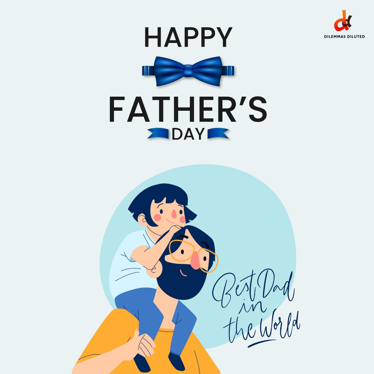 This #fathersday lets cherish our beautiful memories with our father. A #superhero who always supports and gives us the willpower whenever in need. . #HappyFathersDay to all the superheroes  from team #DilemmasDiluted .  #fathersday2020 #ilovemydad #fathersmatter #dilemmasdiluted https://t.co/juq71iDr8b