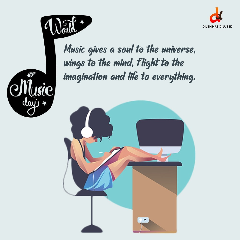 #HappyMusicDay 🎧🎶  . Indulge in the harmony of beautiful music and raise the volume of your favorite tune.. . . Comment down your favorite music at this moment? .  #peace #peaceofmind #musiclovers #musicday #worldmusicday2020  #musiclife #musical #instamusic #WorldMusicDay https://t.co/R0DvTUDvT6