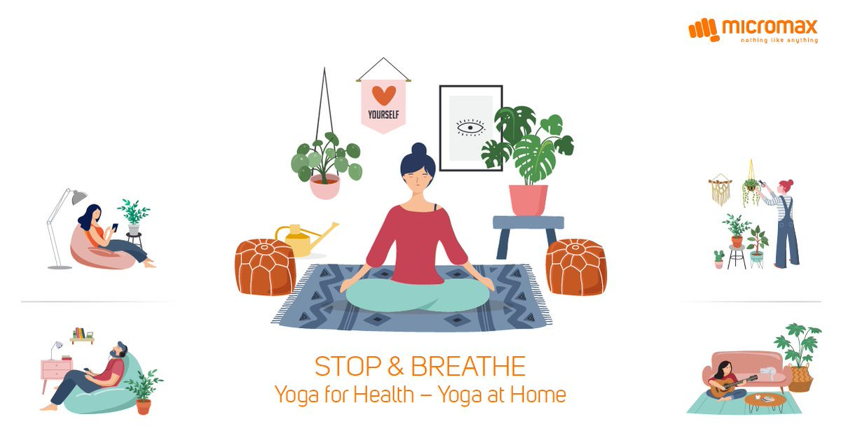 Yoga is not a Work-out it is a Work-in. During lockdown you have kept your household machinery working, it's time to re-energize your soul. #InternationalYogaDay https://t.co/Aym4Xc3K3k