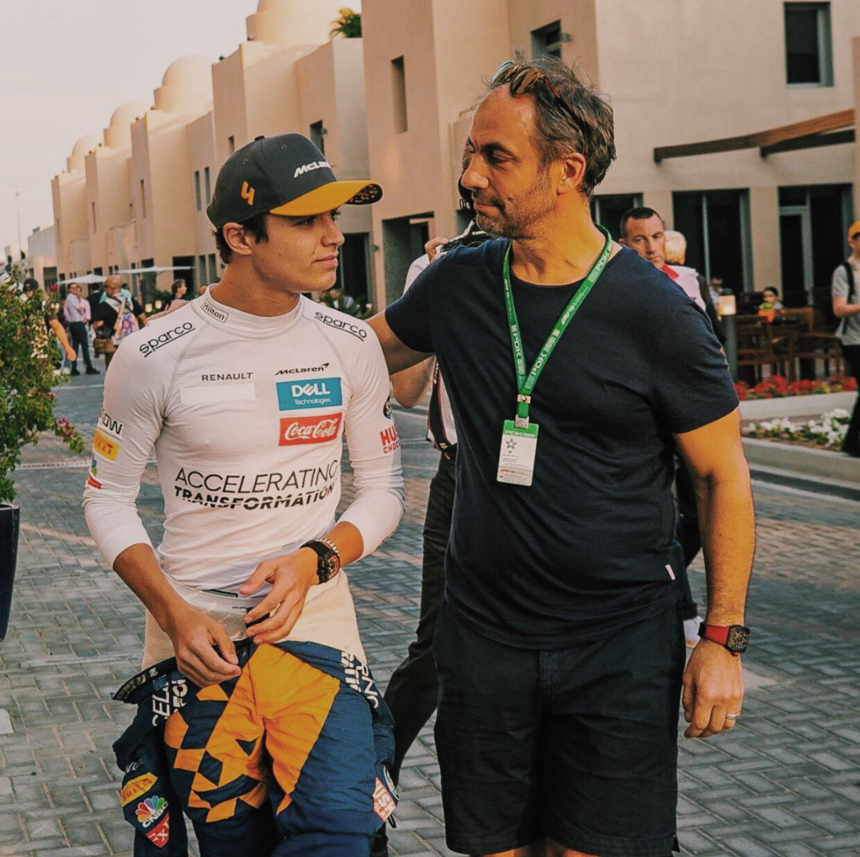"""Lando Norris Updates on Twitter: """"Happy Father's Day to all the incredible  Dad's out there 🧡 #L4NDO #LN4 #F1 #FathersDay… """""""