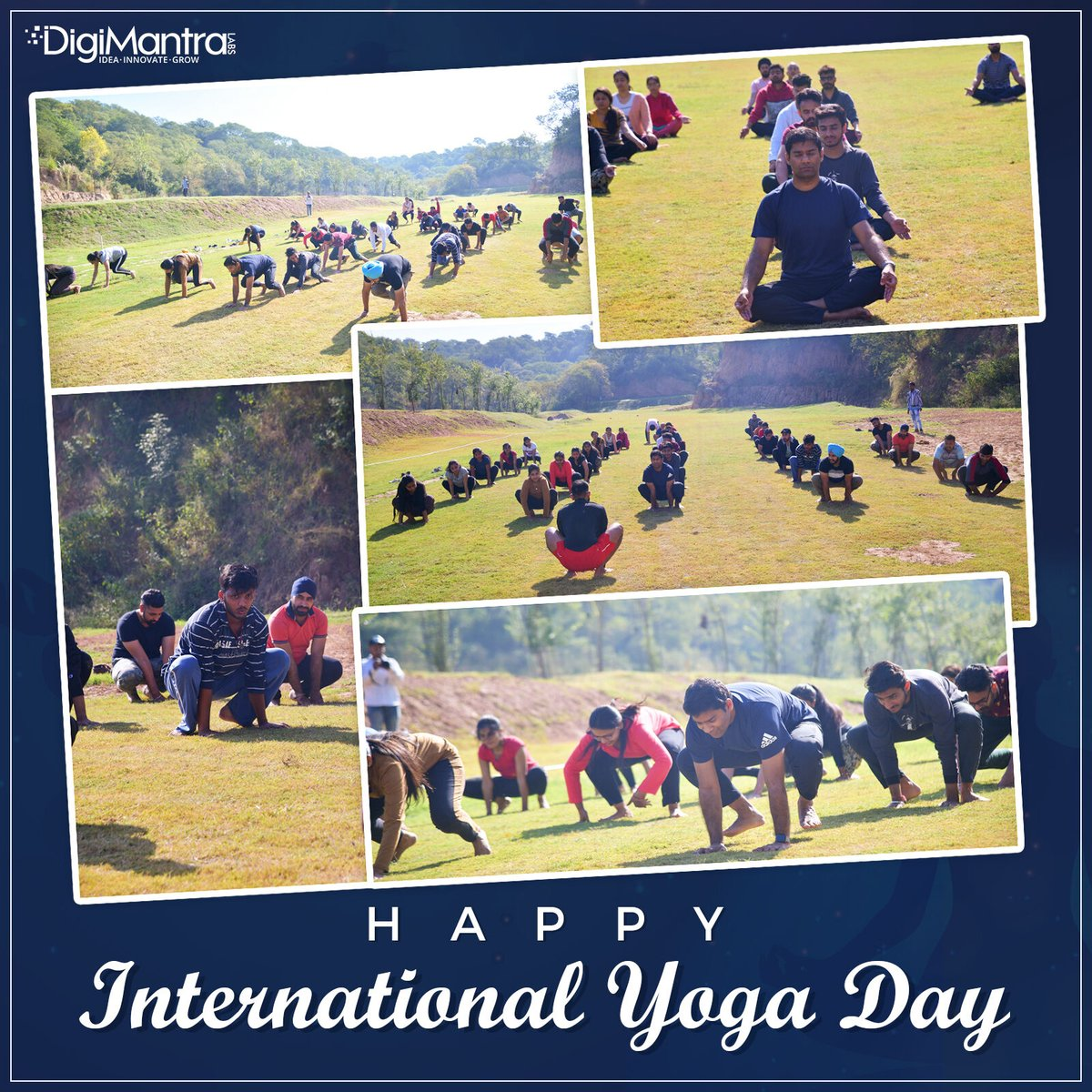 Happy 6th International Yoga Day! Sharing memories from Reboot 2020 where we all attended yoga detoxification sessions.  #internationyoga #yoga #digimantra #reboot2020<br>http://pic.twitter.com/h5hm2GU6Lt