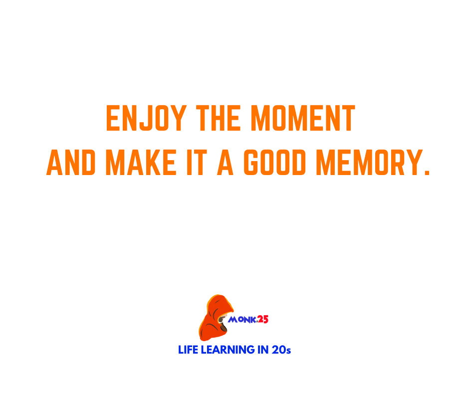 Enjoy the moment and make it a Good memory. . #Enjoy #PositiveVibes #positiveenergy #Mindfulness #InspirationalQuotes https://t.co/Igz4v6R3bS