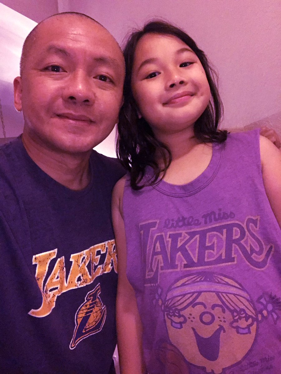 Happy Father's Day everyone! Go @Lakers #ThisIsYourTime #GirlDad @TISSOT 💜💛⛹🏼♂️🏀#AnnikaDragon https://t.co/5CVcPjKHAr