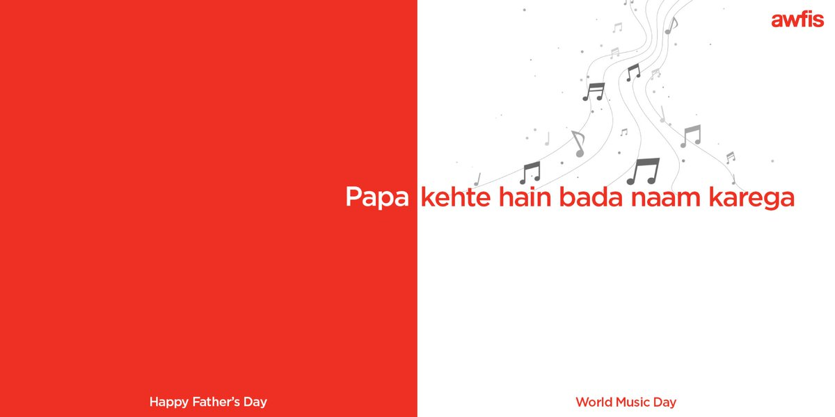 Happy Father's Day all the dads out there!  You're the real Rockstars 🎸🤘  #FathersDay #WorldMusicDay https://t.co/qYu3ewhd8o