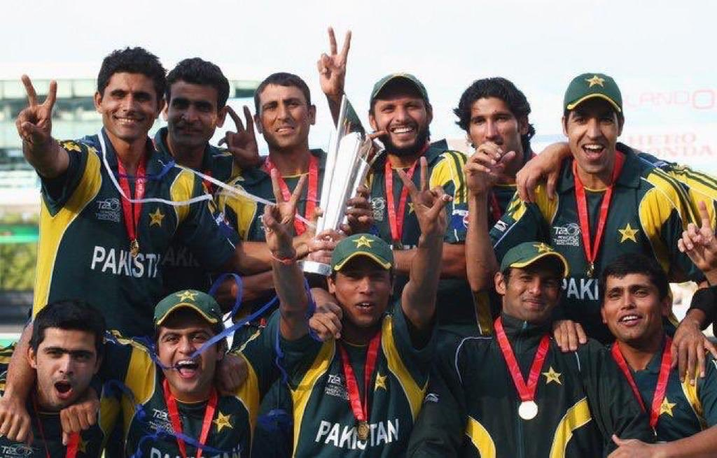 Beginning of my blessed journey, my 1st tour and we were world champions still gives me goosebumps. Can never forget this day. ALLHAMDULILAH for this always.. #21/06/2009