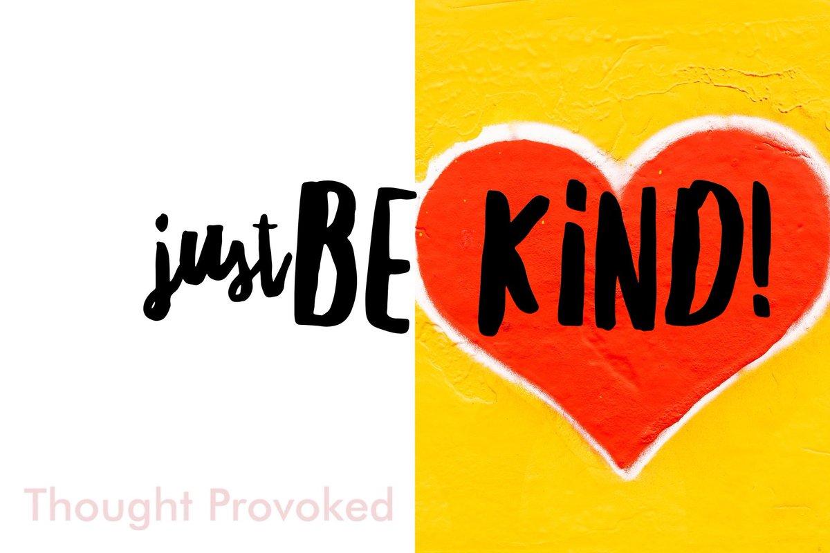 ✨ Just Be Kind! ❤️ #ThinkBIGSundayWithMarsha