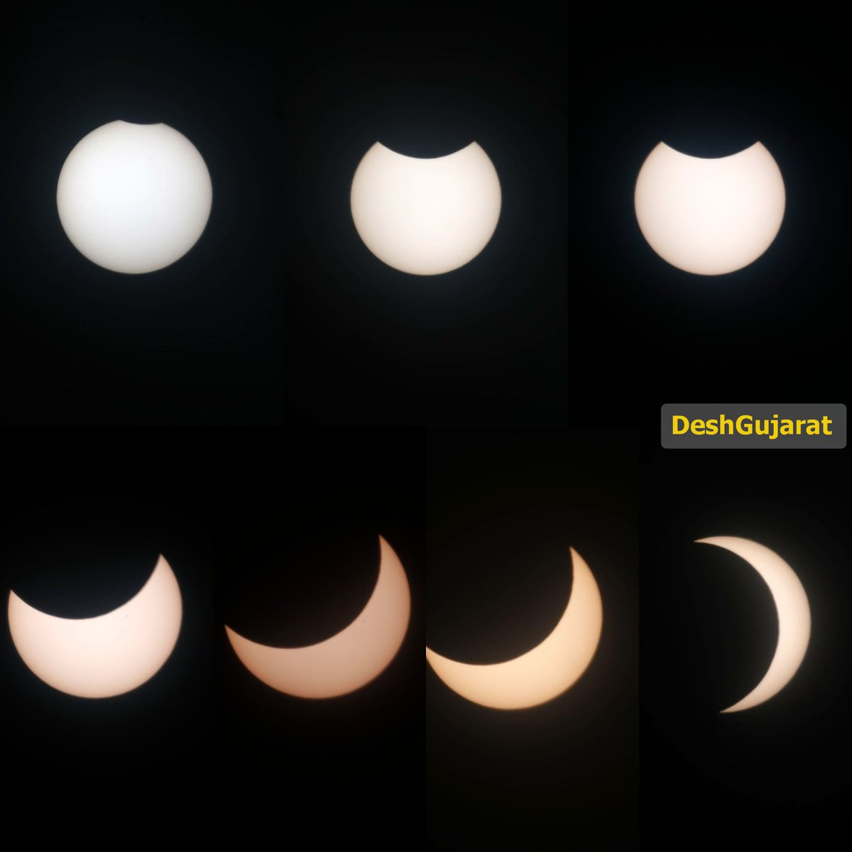 In pictures: Solar Eclipse as viewed in Gujarat