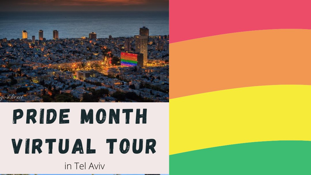 Stay at home, and feel the city vibe! #TelAvivPride virtual tour, especially for our beloved tourists! We miss you so much!❤️🧡💛💚💙💜 Click here for the #zoom link- https://t.co/rKckCyrWjZ 📷Yossi Keret #VisitTelAviv #PRIDE2020 https://t.co/q5DaVGXe14