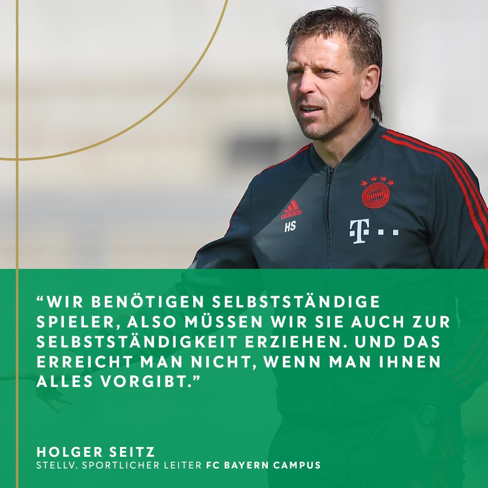 Als Trainer führte Holger Seitz die U-Teams vom @FCBjuniorteamzu Meistertiteln. Seit 2019 arbeitet er in der Sportlichen Leitung am Campus. Wir haben mit ihm über den Staffelsieg der A-Juniorenund die Ausbildung der Bayern-Talente gesprochen.  👉 https://t.co/P1NdsZRCu6 https://t.co/r6SXQnjokw