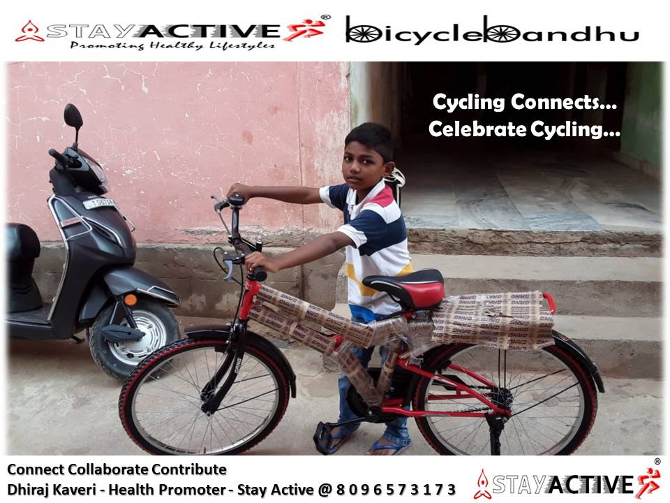 #StayActive #BicycleBandhuPromoting #ActiveTransport In #Urban Settings Shahanawaz Gets #GreenWheels As Bday Gift From Father Md Farook Our Community Housekeeping Staff #WorldBicycleDay 2020 #HappyFathersDay 2020 #CelebrateCycling #CyclingConnects #ConnectCollaborateContribute https://t.co/LezII1cSwv