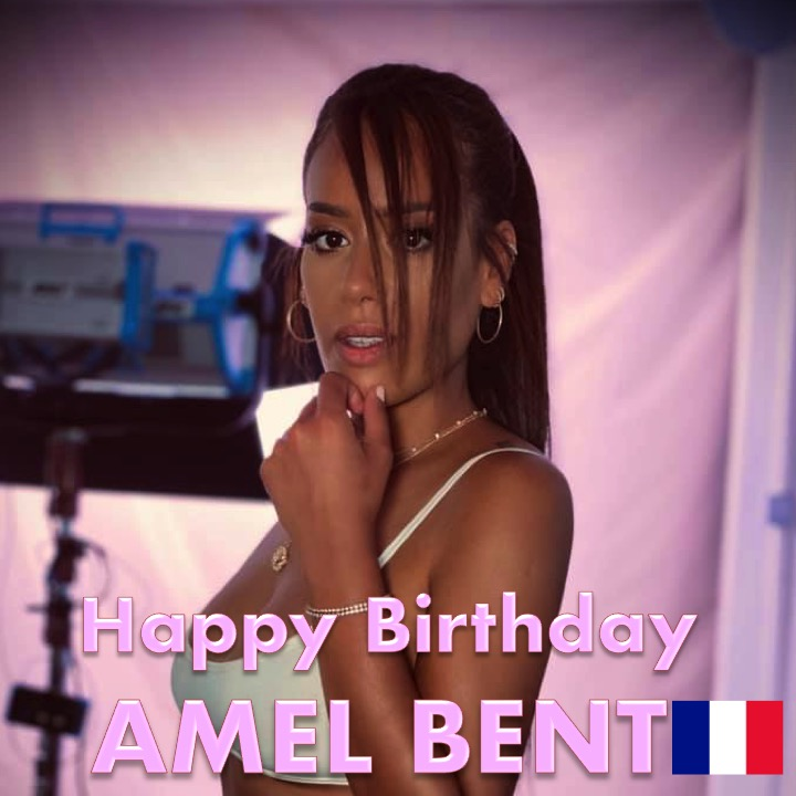 Happy Birthday to #France's beautiful and very talented #AmelBent! 👩🎤🎂🍾🎁🎉🎇 🌟👑 @amel_bent https://t.co/GlTHNQdCMG https://t.co/th1QPpQjFd