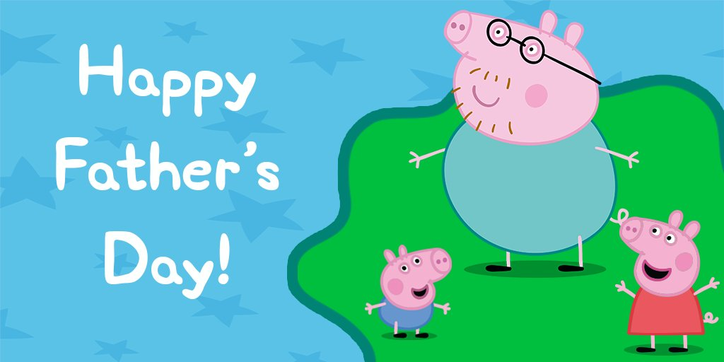 Happy Fathers Day to all the oinktastic Daddy Pigs! We hope you have a perfect day! https://t.co/8XC1d7uGJ3