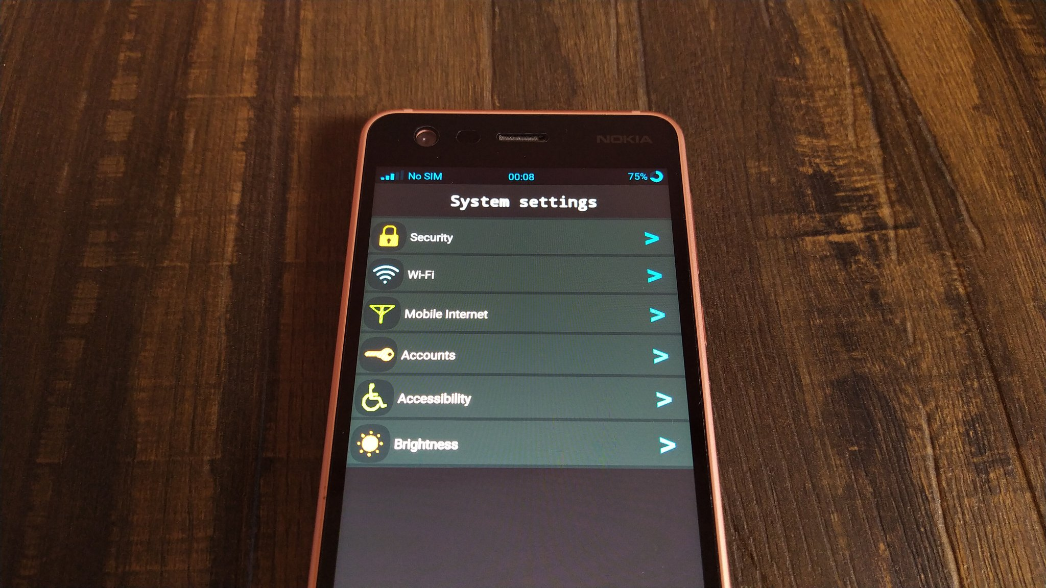 Nokia Kataya UI demo on Nokia 2