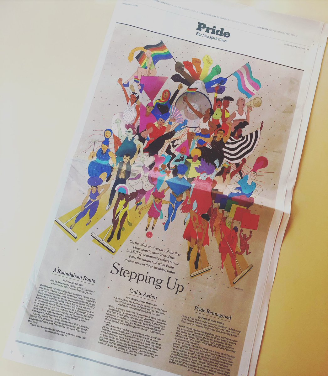 In your papers today and online at nytimes.com/pride ❤️🏳️‍🌈