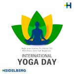 Image for the Tweet beginning: This Yoga Day, let's balance