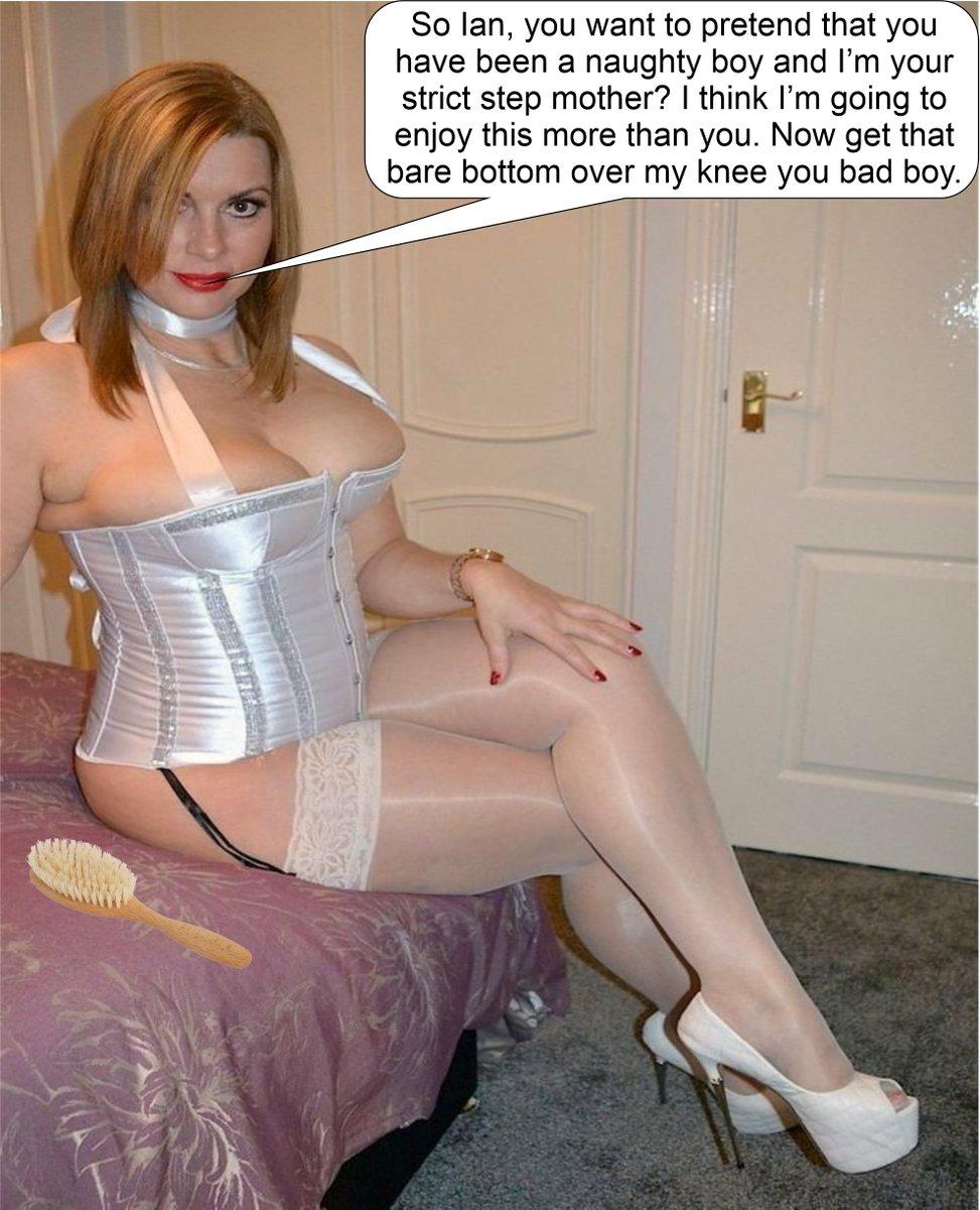 Boy spanking naughty Neighbor /