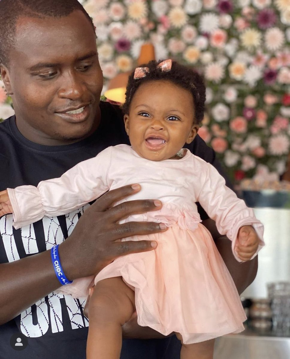 Celebrating being a father to my little angel for the first time, to all the #ChampionFathers out there happy Father's Day