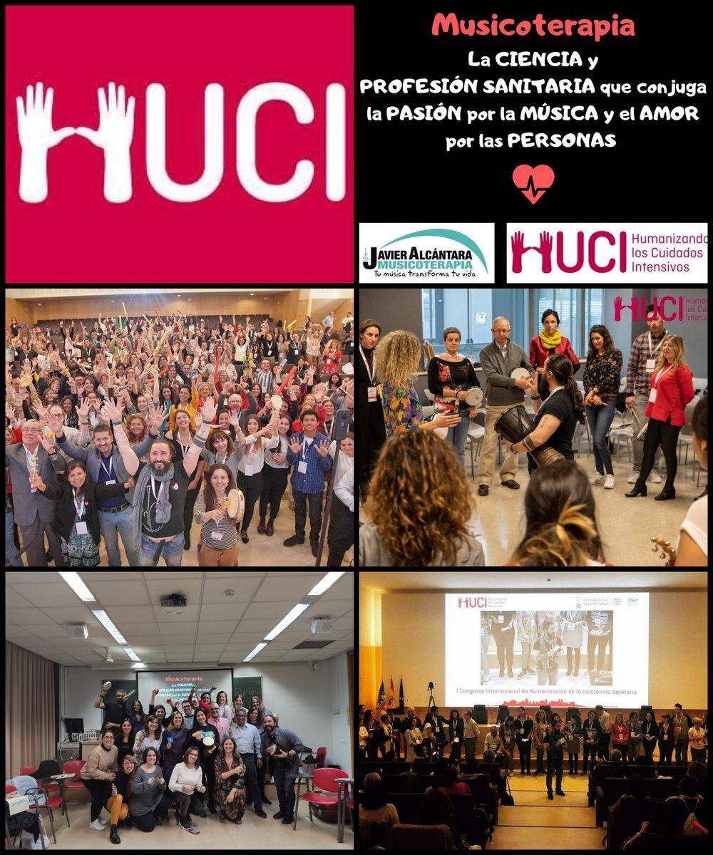 PROYECTO HU-CI también celebra el #DíaEuropeoDeLaMúsica valorando y aplicando el uso de la ciencia de la #Música y la #Musicoterapia, como herramienta terapéutica y de #humanización. @HUMANIZALAUCI https://t.co/ZzLyzQFVZl
