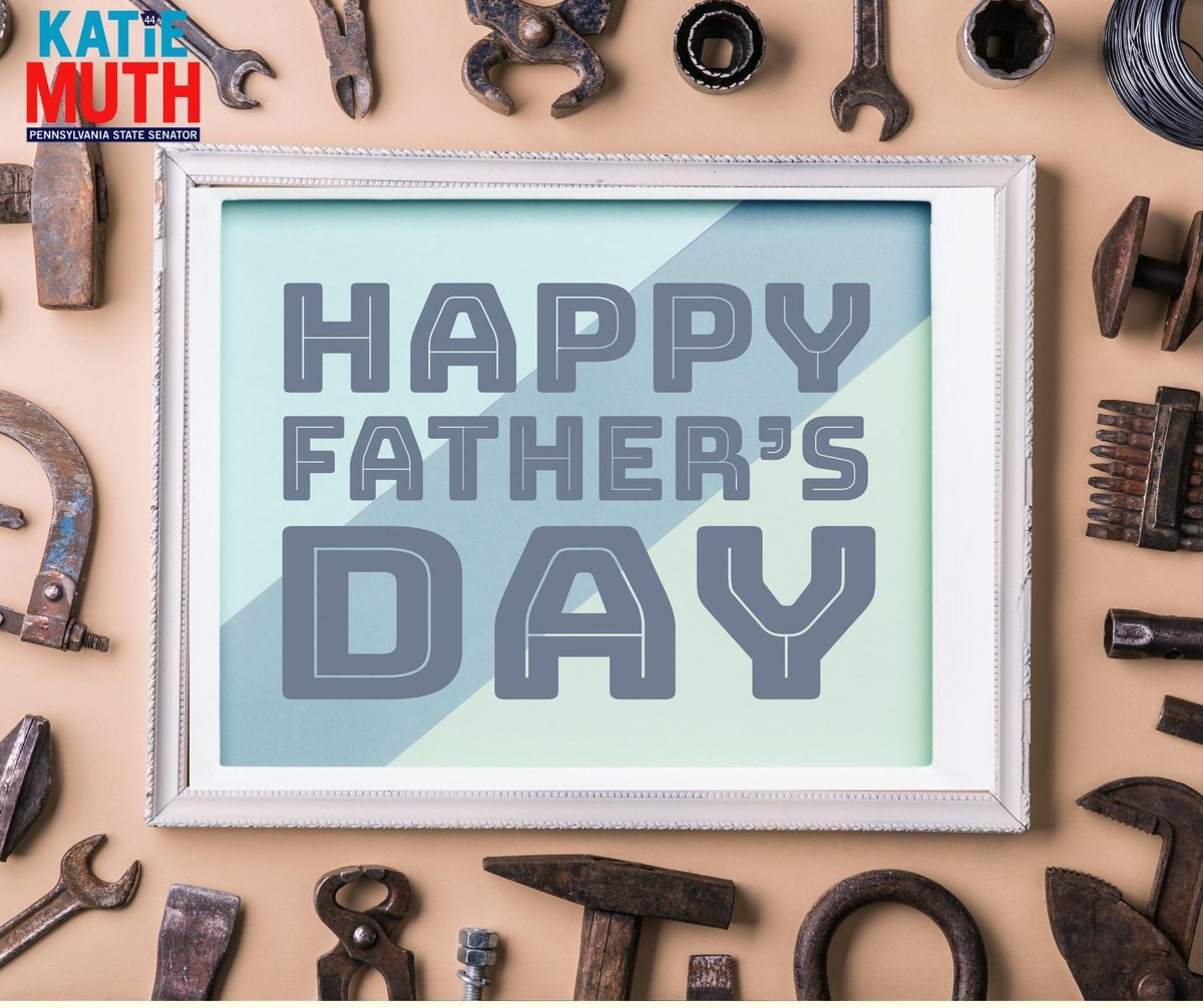Happy Father's Day! I hope all of the fathers across the Commonwealth have a wonderful day!