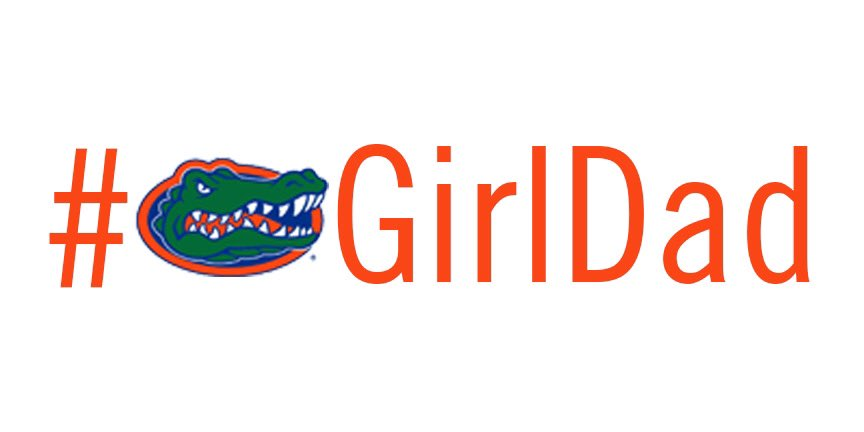 Happy Father's Day to all the 🐊girl dads out there!