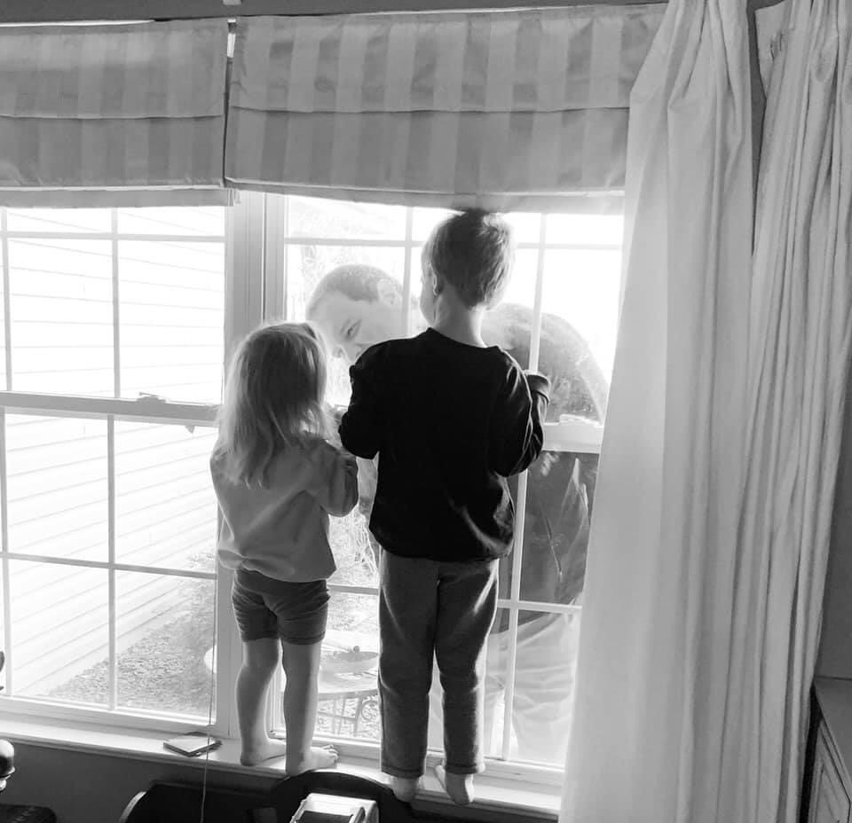 @IUHealthWest nurse self-quarantined in family camper reunites with kids for Father's Day.  https://t.co/siCQlNLsUL  #COVID19 #FathersDay #Nurse #Family #Children #Quarantine #Camper #Precautions #AvonIN #ALLinHendricksCounty https://t.co/AmPzx0GgNk