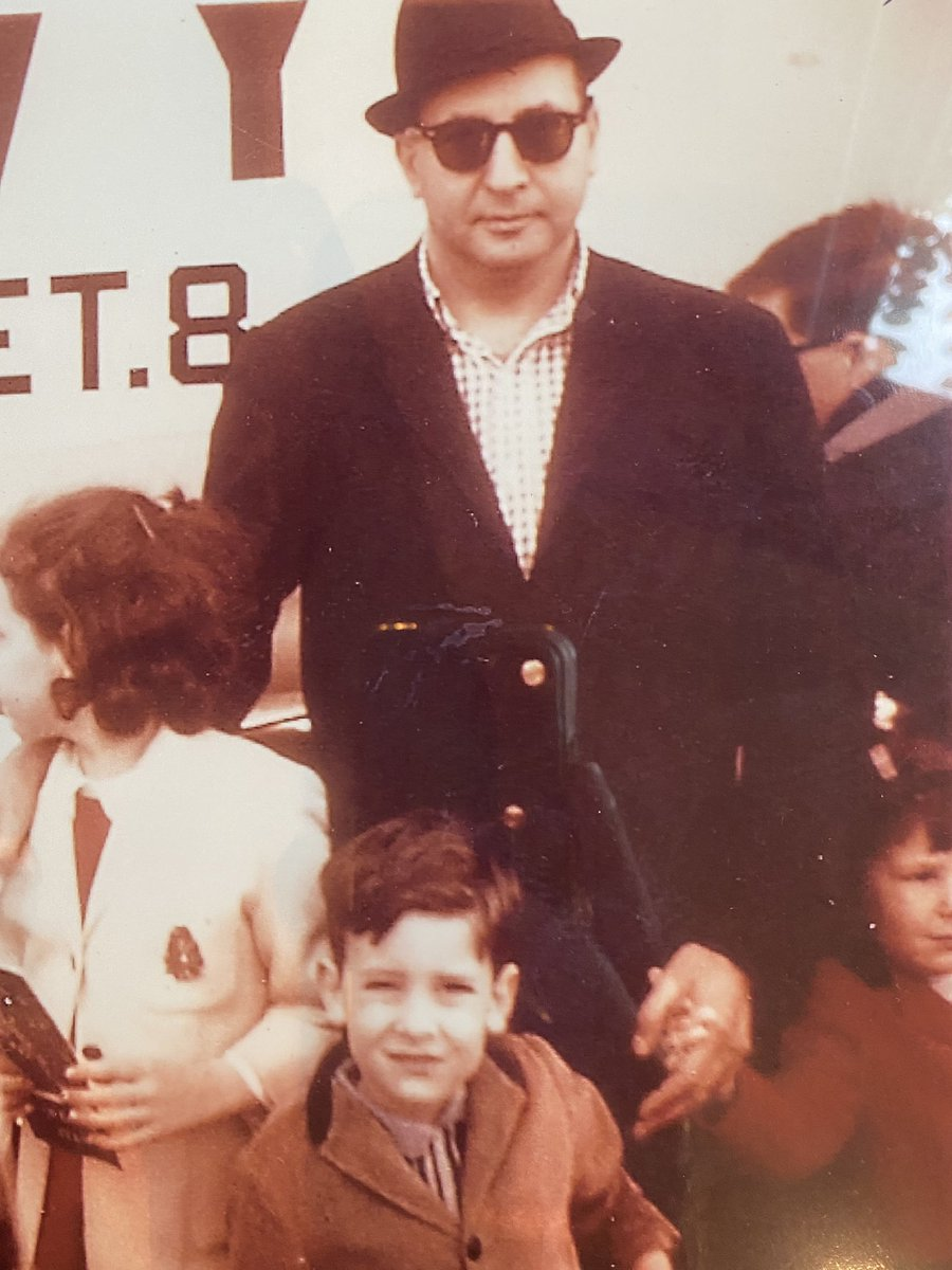 Thinking today about my father. I still stand on his shoulders.