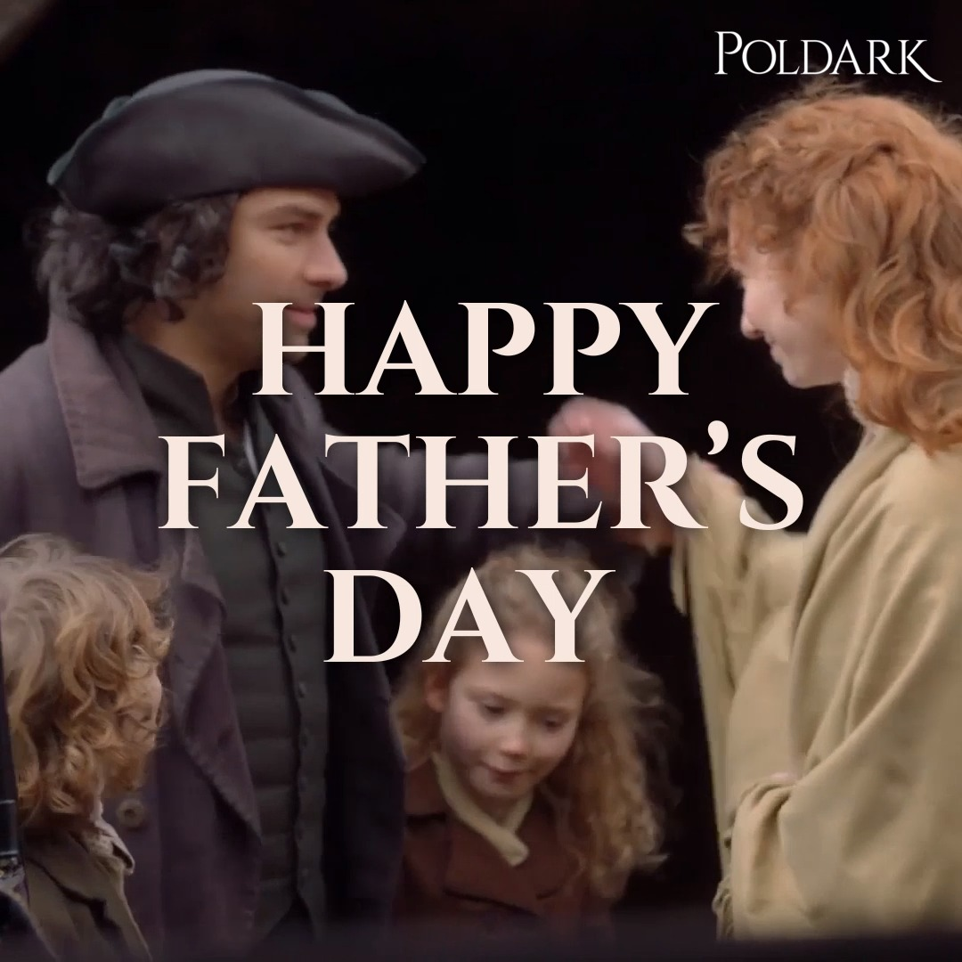 Happy #FathersDay to all the wonderful fathers out there! Have a lovely day from all of us at team #Poldark