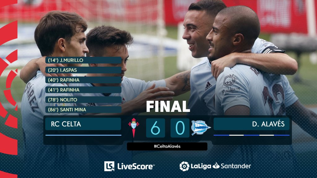 Liga : le Celta Vigo se relance en humiliant Alavés