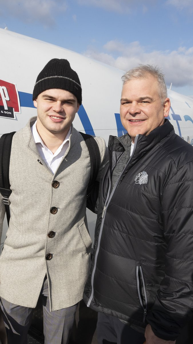 @Brinksy97 and his father Dave