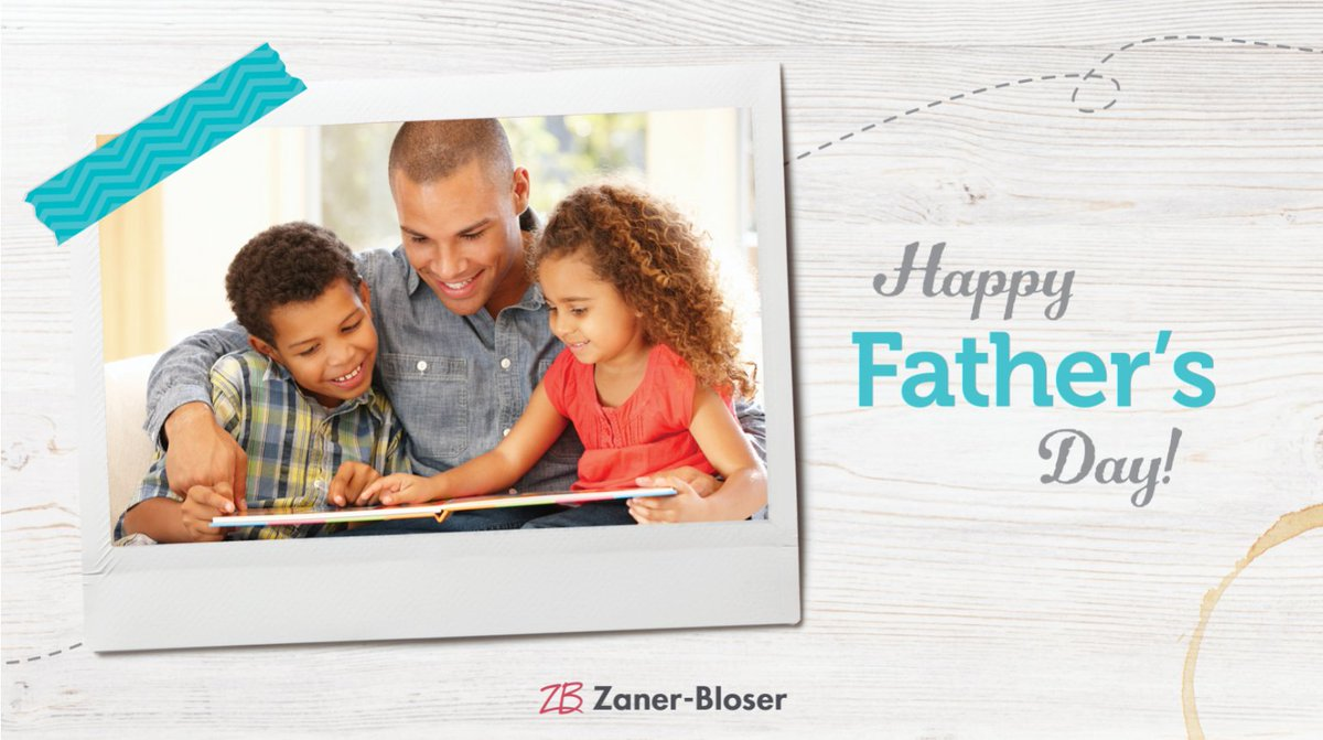 Happy Father's Day from the Zaner-Bloser family to yours! https://t.co/gx9POi7FSQ
