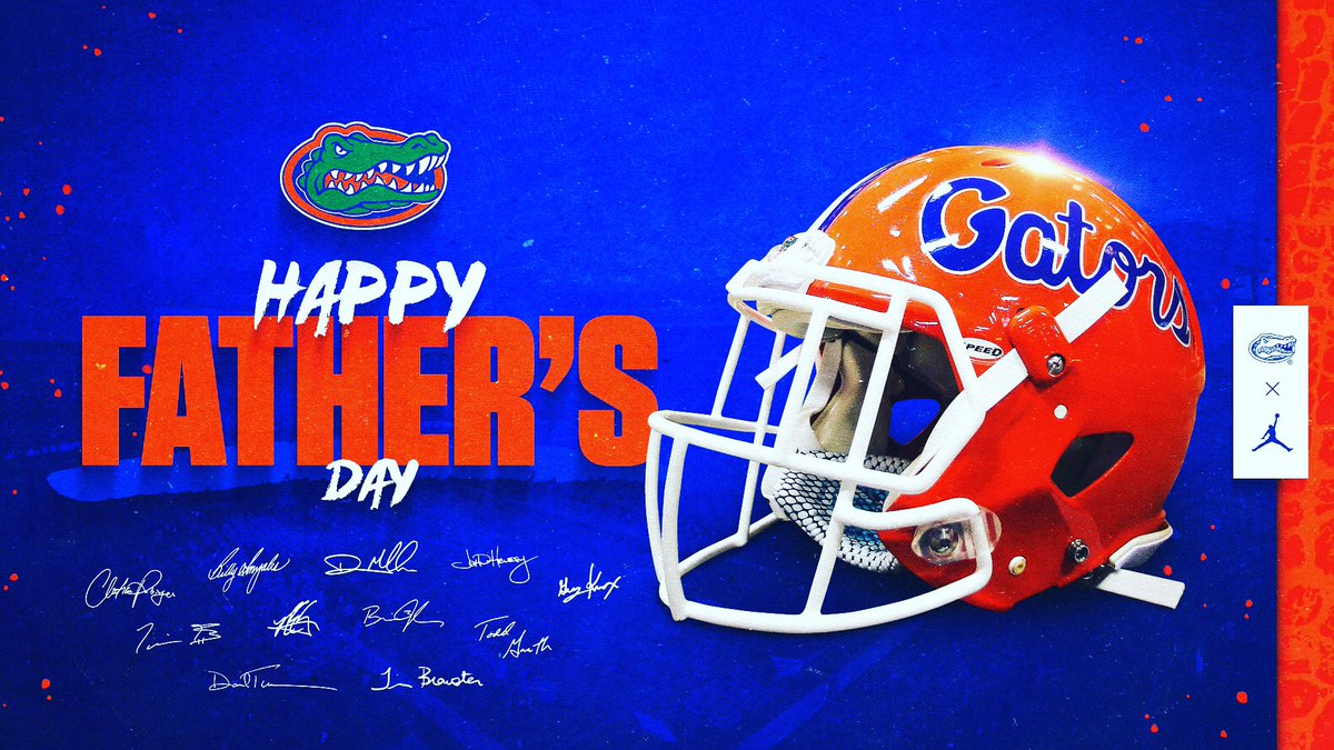 #HappyFathersDay to all the Gator dads out there! 🐊