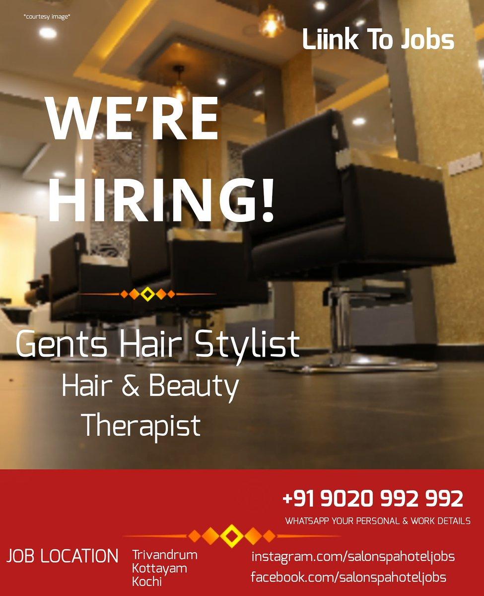 #salonspahoteljobs #salon #salonjobs #hairstylist #jobs #beautician #keralasalon #hairsalonjobs #salonlife #salonowner #salonnails #salonprofessional #spajobs #keralajobs #indiasalon  #indiasalonjobs #indianmakeupartist #hairstyle #salonjob #jobsearch #spasalon #spa #spajobpic.twitter.com/MaR0epKFhf