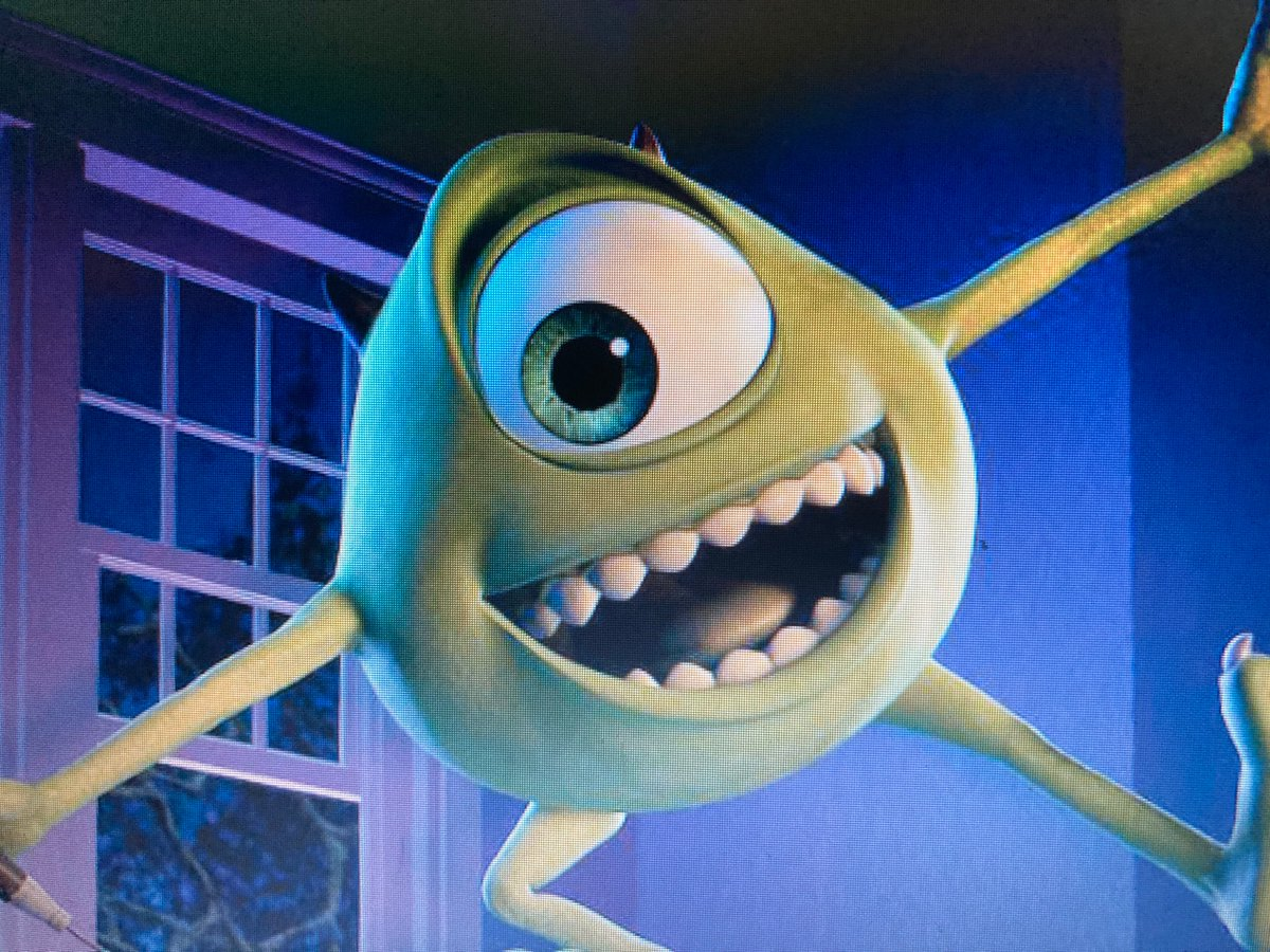 Harry Thomas On Twitter My Top 5 Monsters Inc Characters 1 Boo 2 Sully 3 Mike 4 Roz 5 Randall
