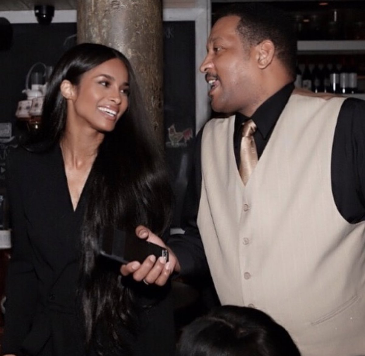 This is basically me and my Dad my whole life! Laughing and having the best times together. Daddy, I'm truly grateful for how you've loved me. You set the tone. You are the Best! Happy Fathers Day. #FathersDay #DaddysGirl🥰