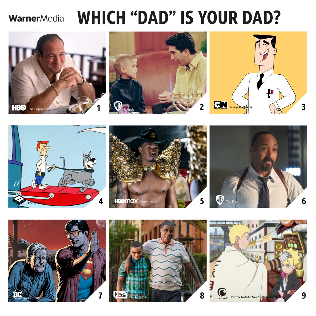 Happy #FathersDay to all the George Jetsons, Tony Sopranos, Jarrell Gorgeous Guccis, and every dad in-between! ❤️